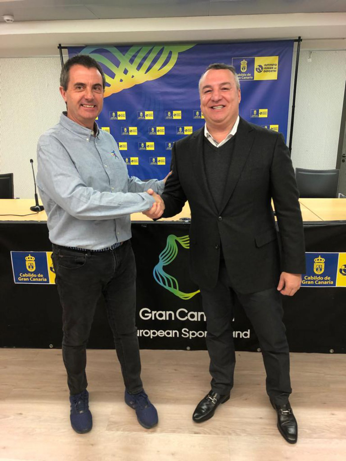 The members of UD Las Palmas will enjoy discounts for the Maratón Gran Canaria '20 LaLigaSports