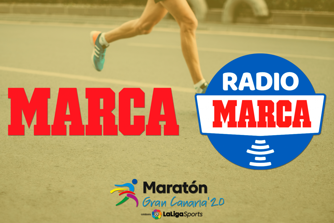 Marca and Radio Marca, official and exclusive media of the Maratón Gran Canaria '20 LaLigaSports