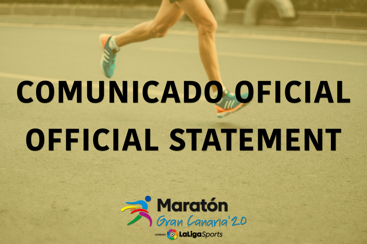 The Maratón Gran Canaria '20 LaLigaSports is postponed due to the health recommendations