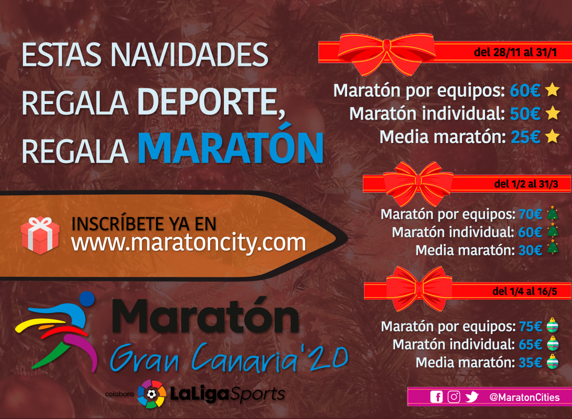 The best Christmas gift is a Marathon